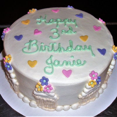 Birthday Cake For Janie