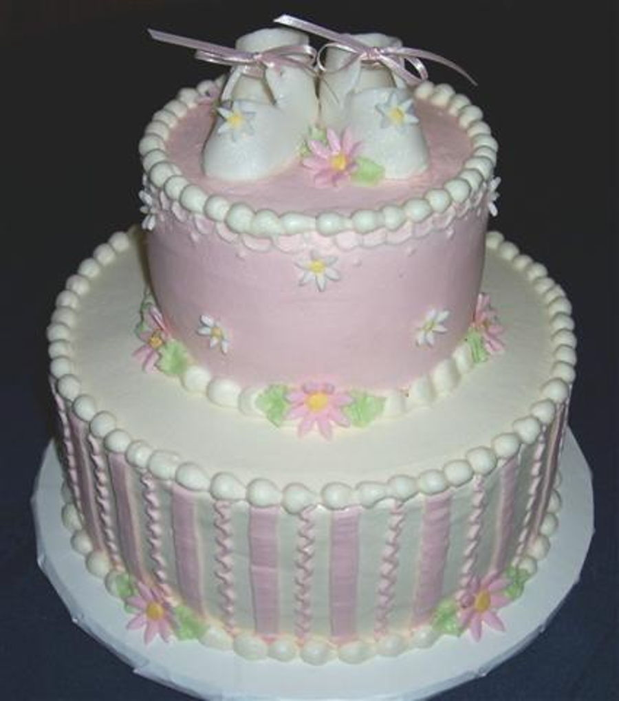 Baby Shower For A Baby Girl on Cake Central