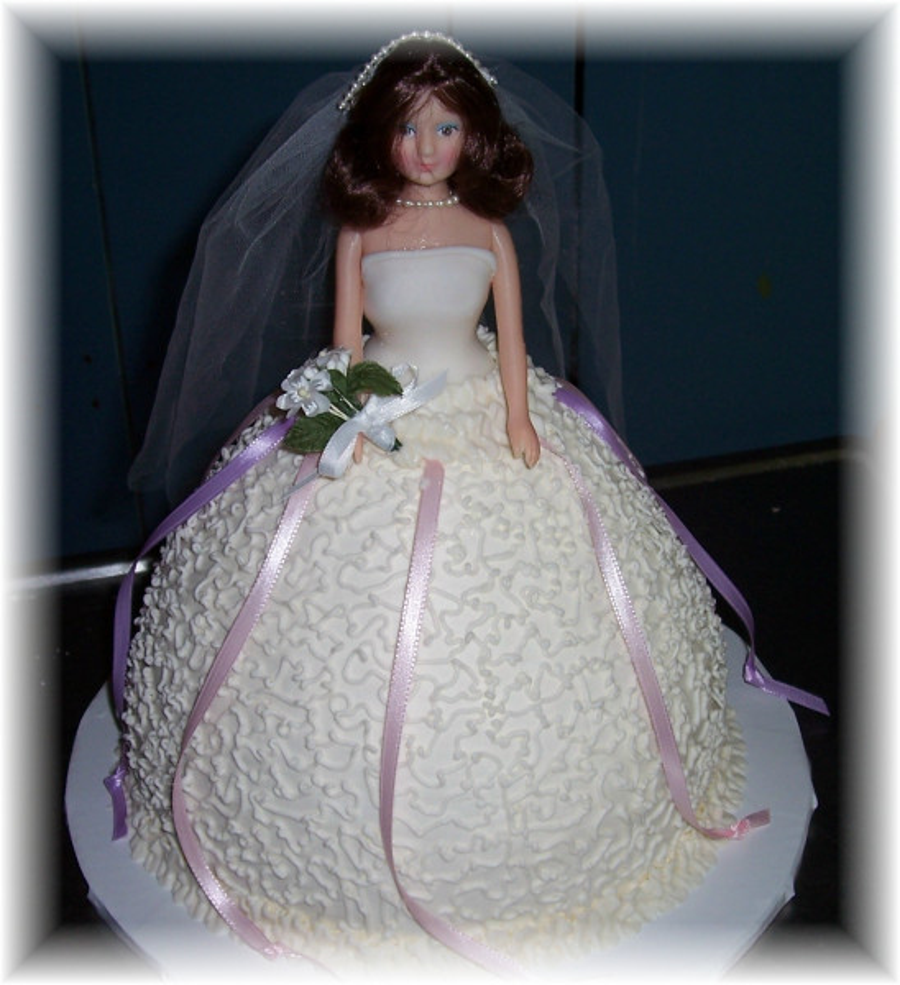 Bride Doll Cake With Charms on Cake Central