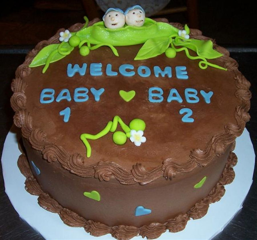 Cake For Twin Boys on Cake Central