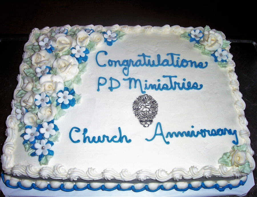 Church 25Th Anniversary on Cake Central