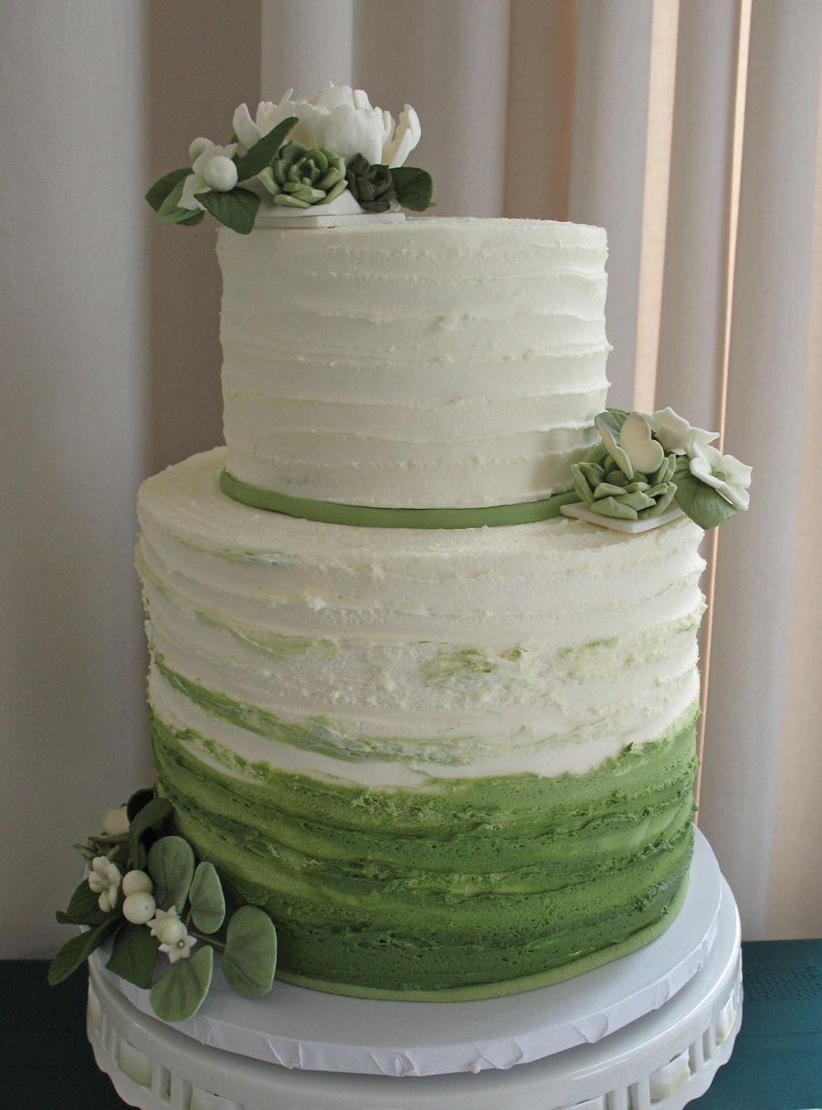 Greenery Themed Baby Shower - CakeCentral.com