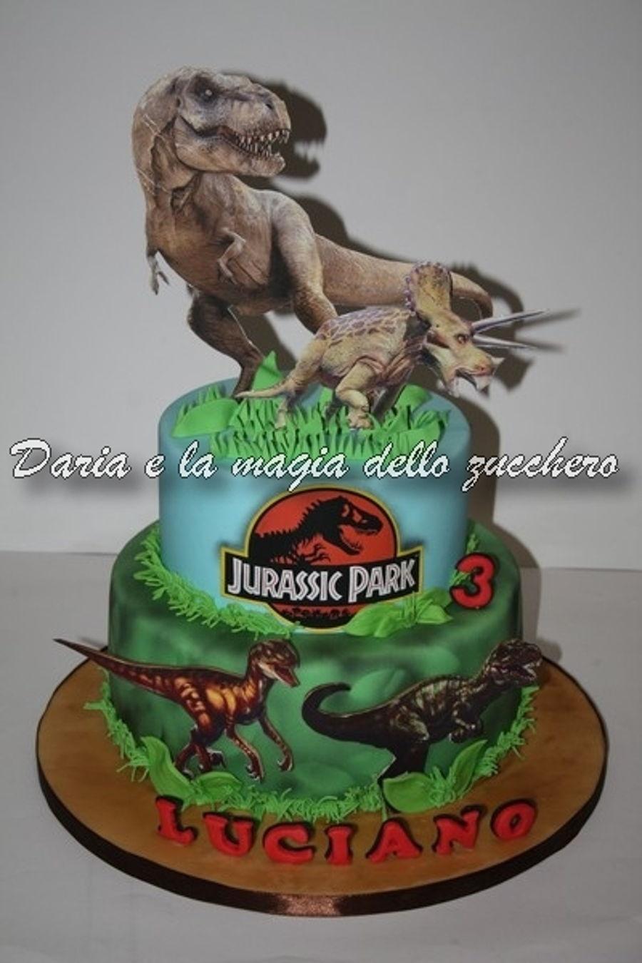 Jurassic Park Cake - CakeCentral.com