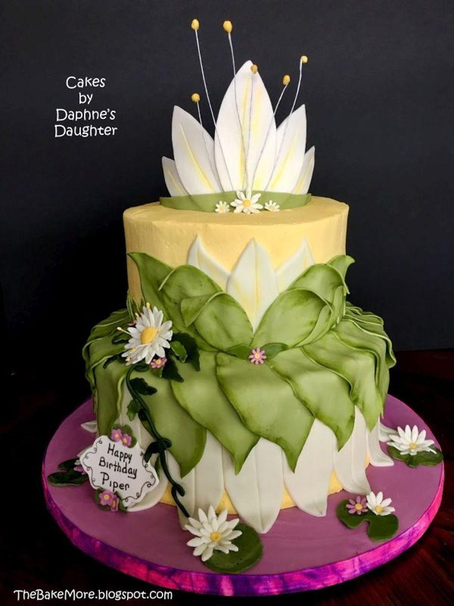 Princess Tiana S Dress And The Frog Cakecentral Com