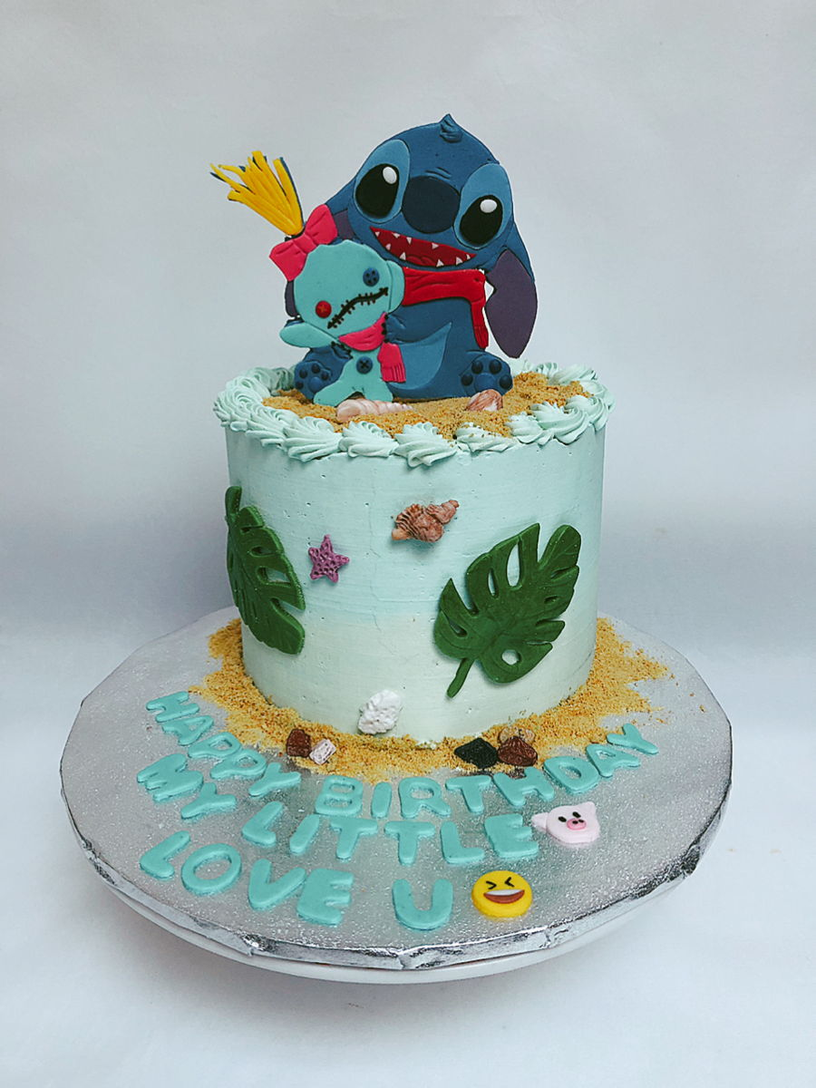 Stitch And Scrump Love Birthday Cake on Cake Central