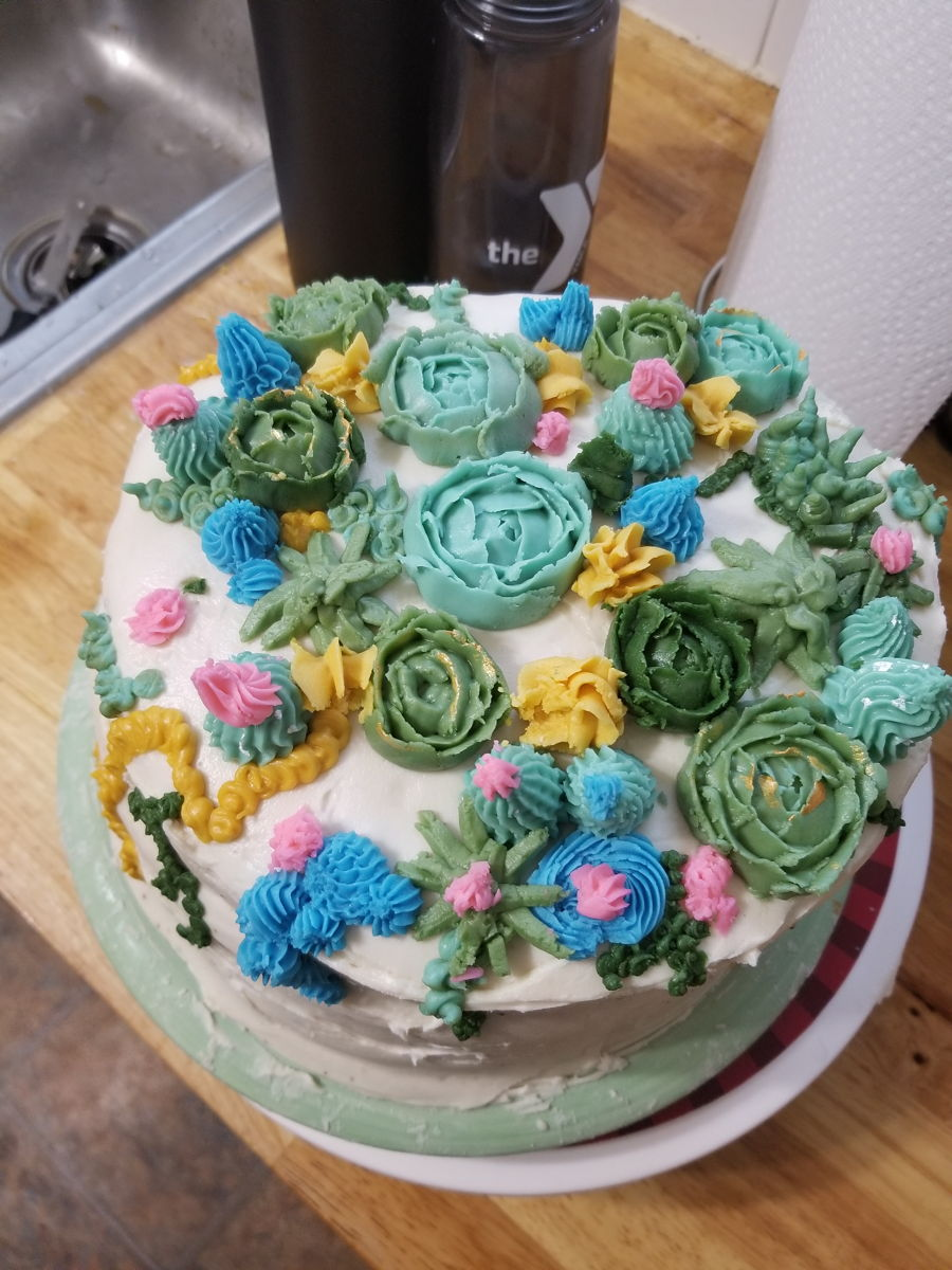 Succulent Cake on Cake Central