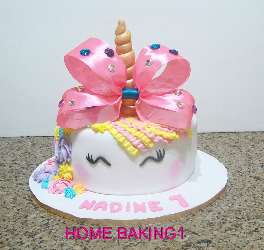 Unicorn Cake on Cake Central