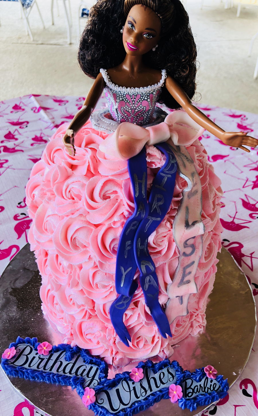 Barbie Dress Cake on Cake Central