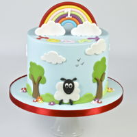 Fluffy Clouds & Rainbows Colourful, fun and delightful children's themed celebration cake. Every time I look at this cake it makes me smile. I thoroughly...