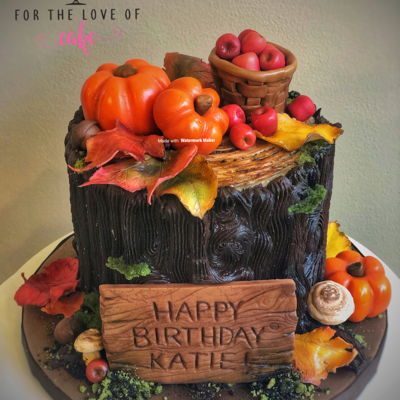 Autumn Forest Cake