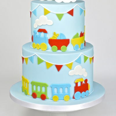 Choo Choo - Train Themed Children's Birthday Cake on Cake Central