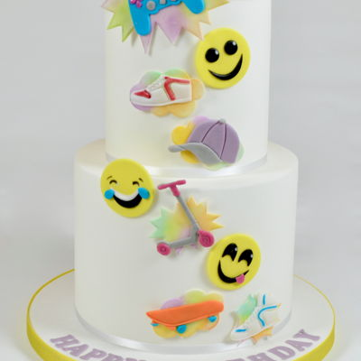 Cool Dude Celebration Cake on Cake Central