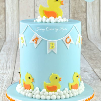 Cute Duckling Children's Cake on Cake Central