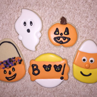 Happy Halloween Cookies #1