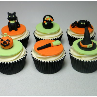 Happy Halloween Cupcakes on Cake Central