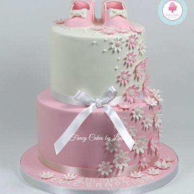 Pretty Baby Shoe Cake on Cake Central