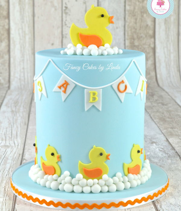 Cute Duckling Children's Cake