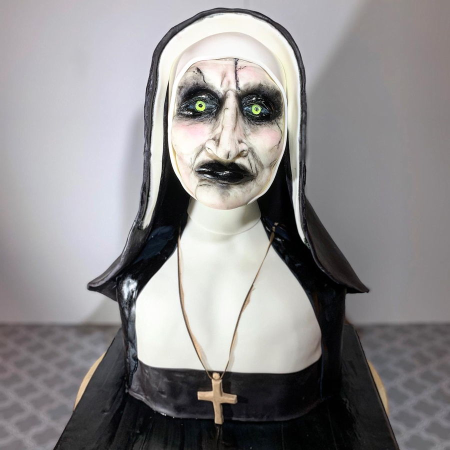 Realistic Nun Cake on Cake Central