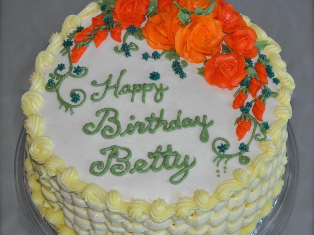 Betty's Birthday Cake - CakeCentral.com