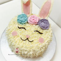 Easter Bunny Cake Easy Cake Decorating for beginners. Happy Easter everyone!