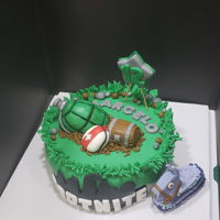 Fortnite Cake For my son on his birthday