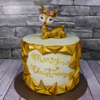 Gold Diamond Christmas Cake - How To Make A Diamond Pattern Onto A Cake Gold Diamond Christmas Cake - How to make a Diamond Pattern onto a Cake