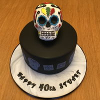 Skull Cake Fun thing to do