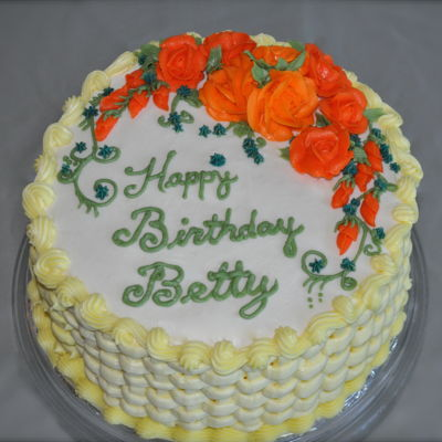 Betty's Birthday Cake