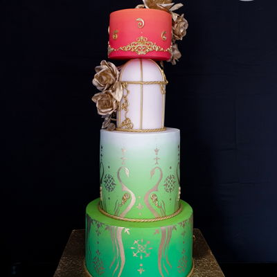 Indian Culture Competition - Wedding Cake