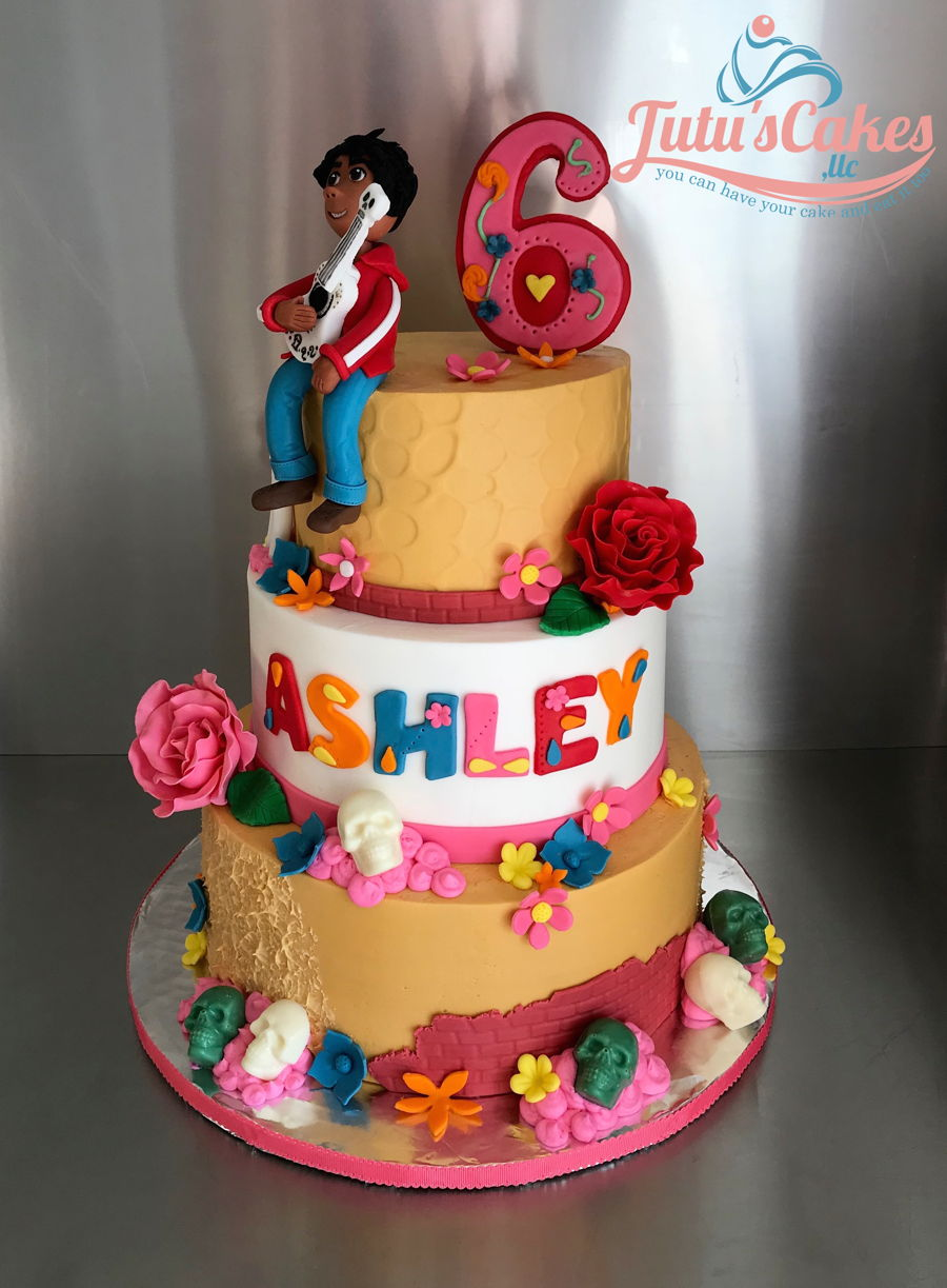 Coco Movie Theme Cake on Cake Central
