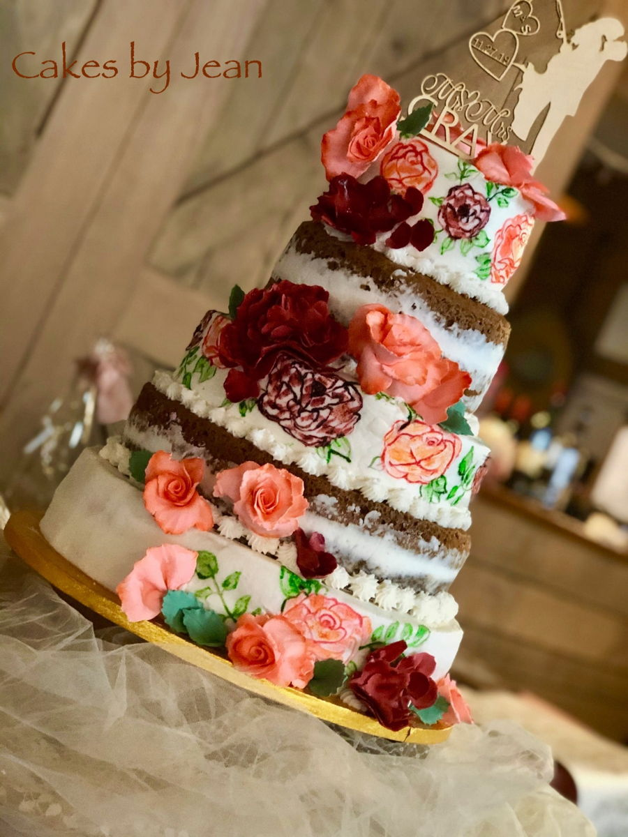 November Wedding on Cake Central