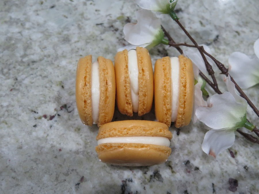 Orange Creamsicle French Macarons Mbalaska on Cake Central