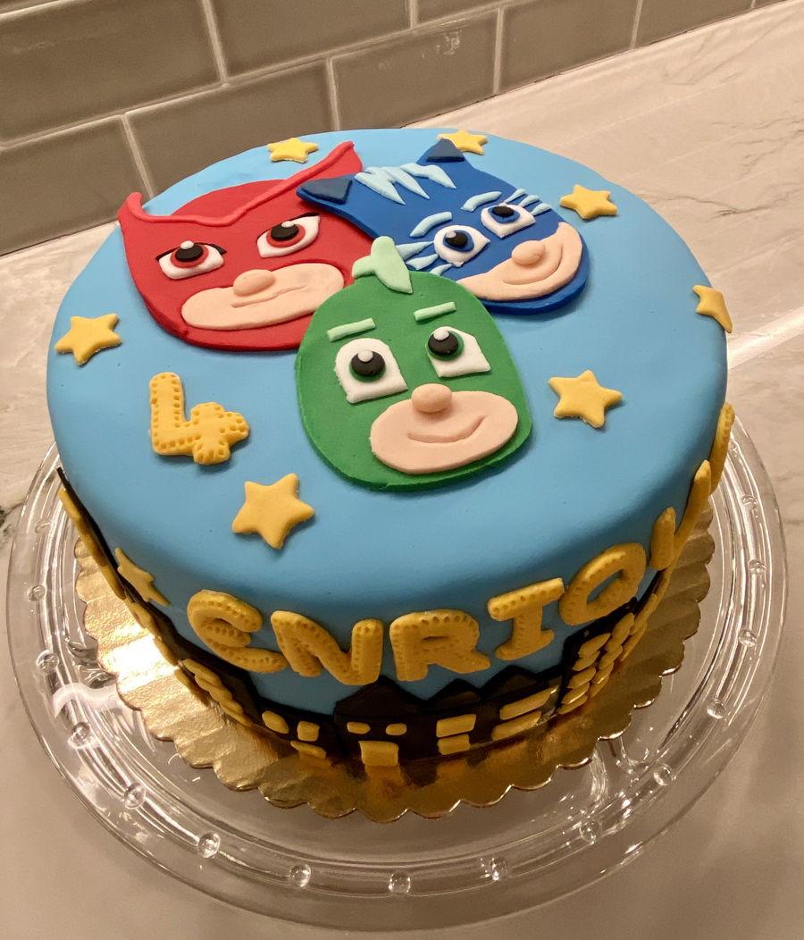 pj masks cake  cakecentral