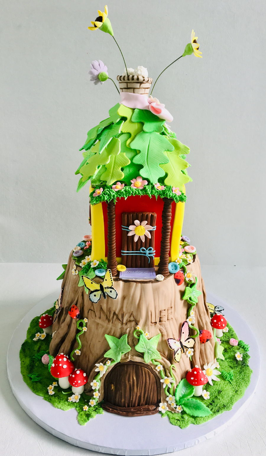 Tinkerbell Pixie Magical House on Cake Central