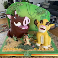 Lion King Cake Supposed to me my entry for the San Diego Cake Show next week. Hopefully I will have the chance to compete next year.