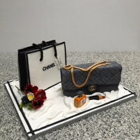 Style Remains The Same Chocolate cake for a friend who loves Chanel.