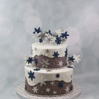 Winter Wonderland Cake Winter wonderland cake