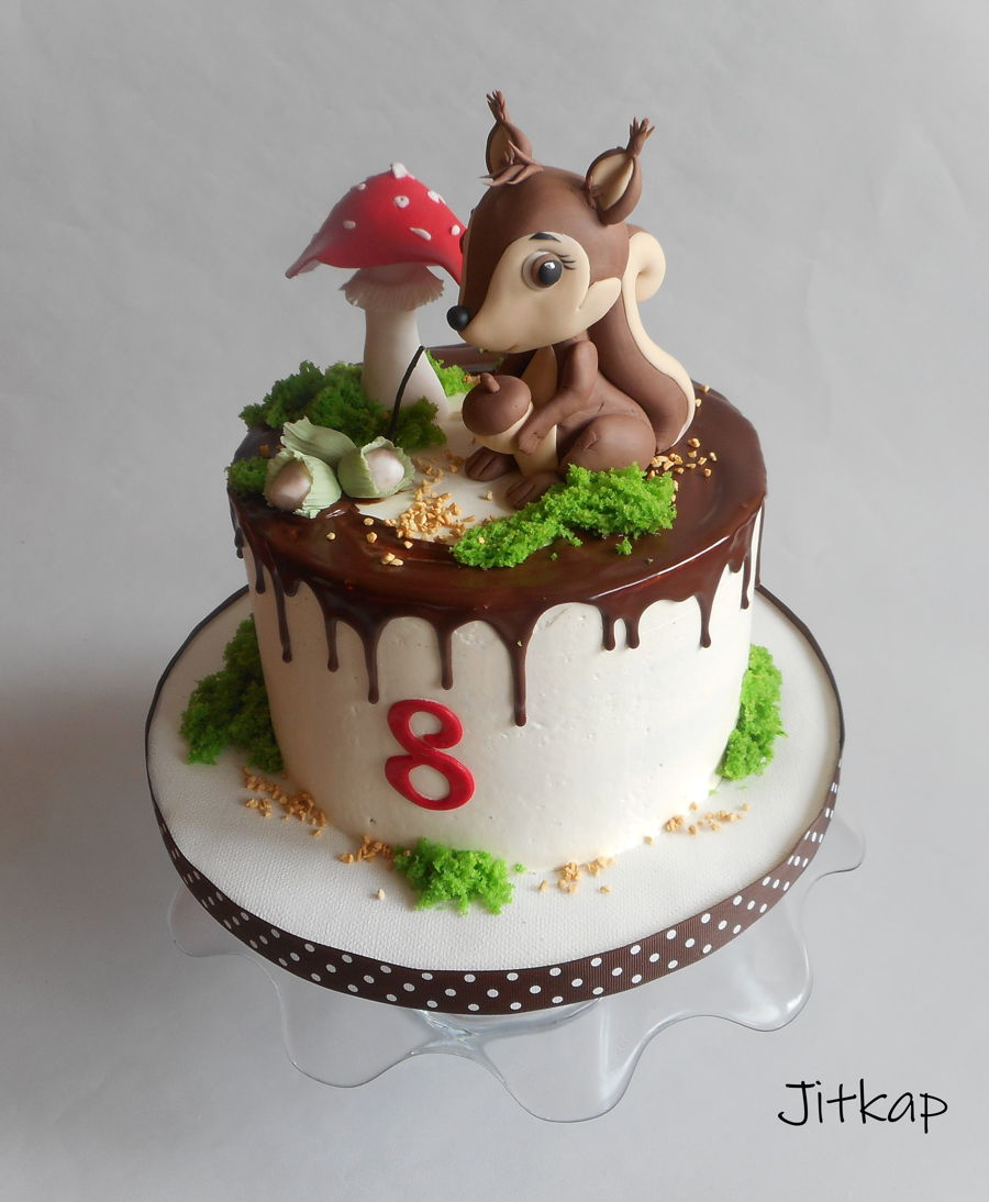 Squirrel Cake on Cake Central