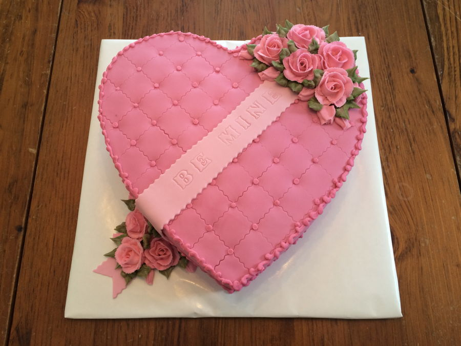 Valentines Day Cake on Cake Central