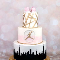 Basketball Baby Shower Cake Basketball baby shower cake