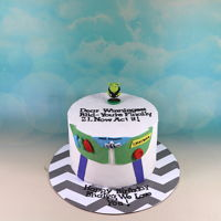 Buzz Light Year Cake Buzz light year