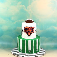 Chicago Bears Cake Chicago bears cake