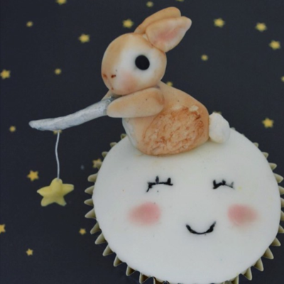 Star Fishing Cupcake