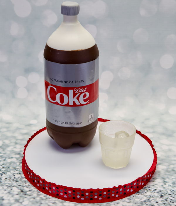 Soda Bottle Cake