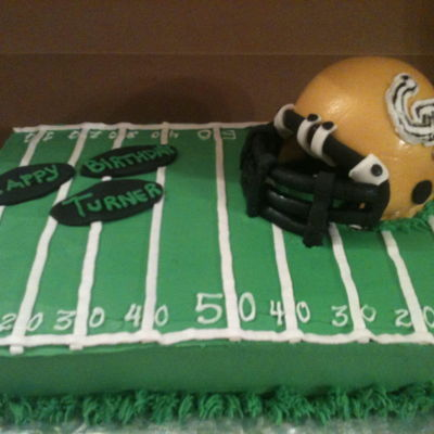 Ga Tech Football on Cake Central