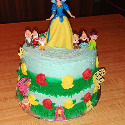 Snow White Cale on Cake Central