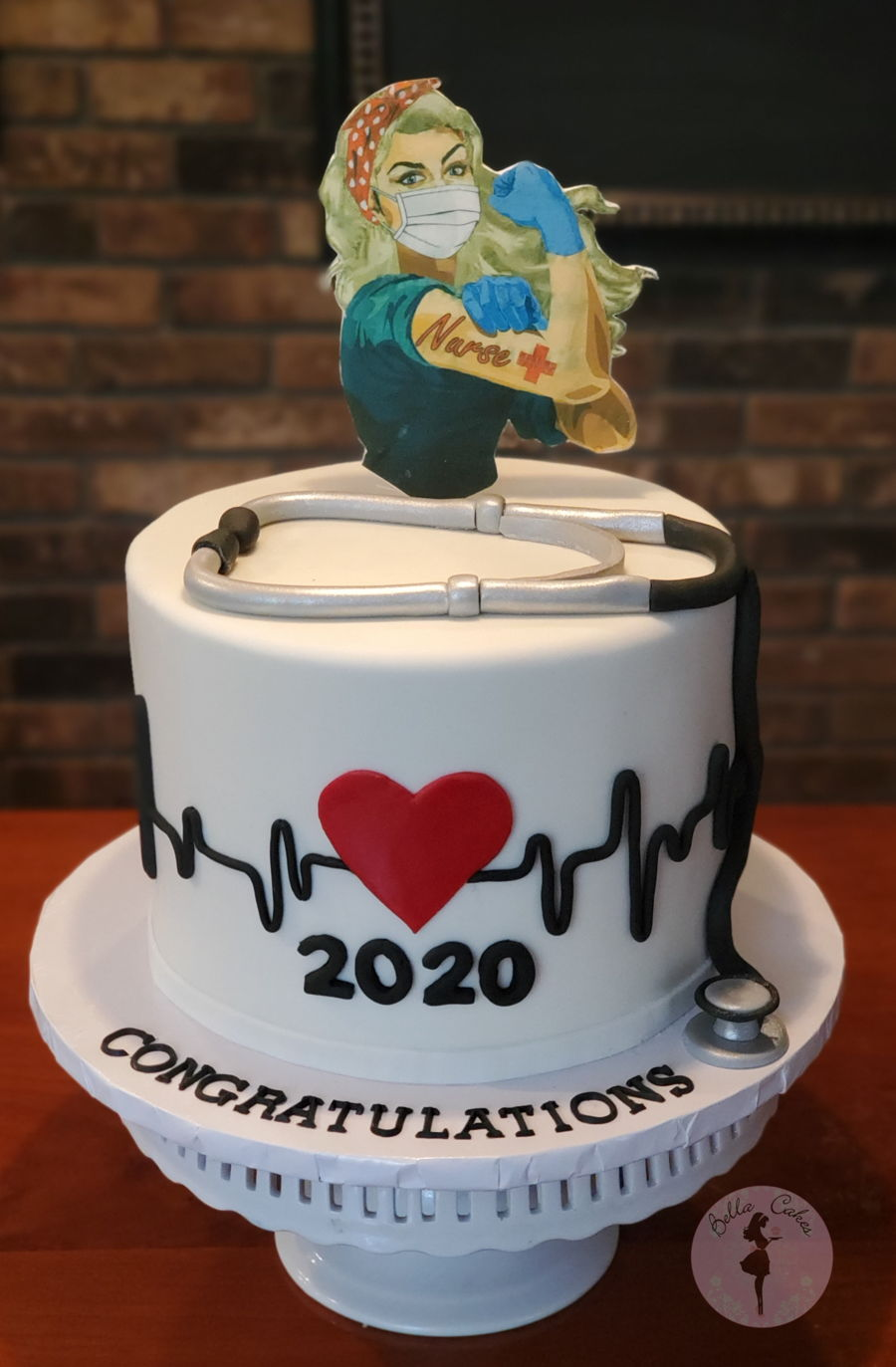 Nursing School Graduation Cake on Cake Central