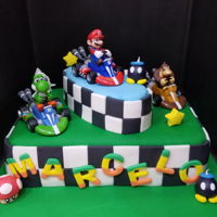 Mario Kart Cake Made it for my son