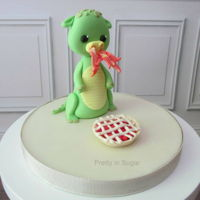 World Baking Day Who needs an oven when you have a dragon?!Happy Baking!...#prettyinsugar #prettyinsugartopper #worldbakingday #worldbakingday2020