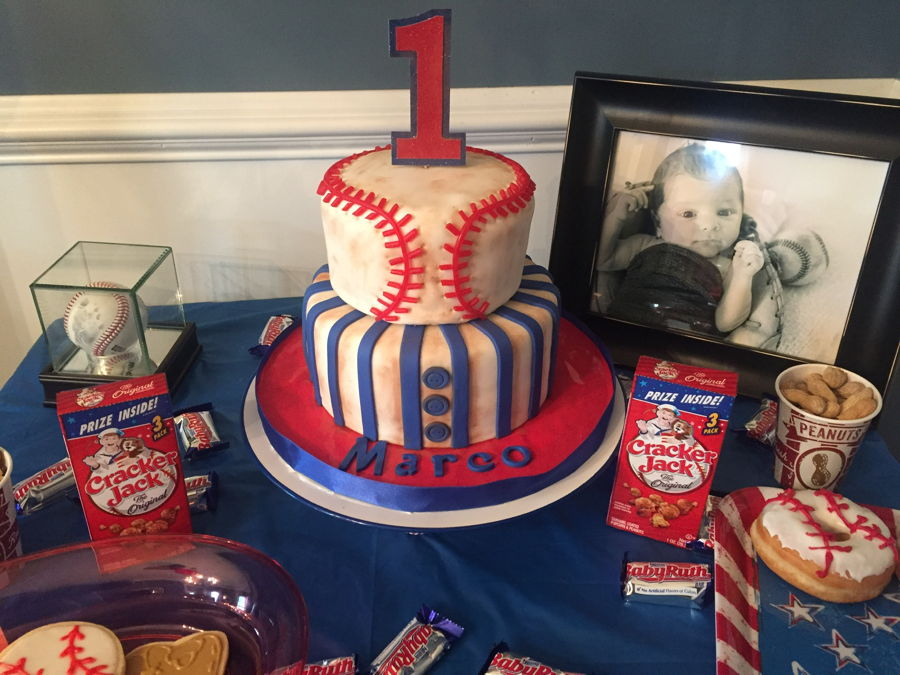 Baby'S First Baseball Birthday on Cake Central
